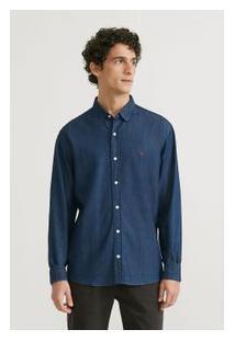 09bb1cc733dd Camisa Azul Kombi masculina | El Hombre