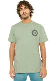 Camiseta Oakley Dollar Bill Masculina - Masculino-Verde
