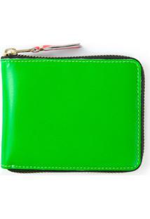 Comme Des Garçons Wallet Carteira Modelo 'Supre Fluo' - Verde