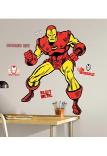 Homem De Ferro Cartoon Gigante