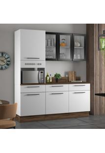 Cozinha Compacta Exclusive I 7 Pt 3 Gv Branca