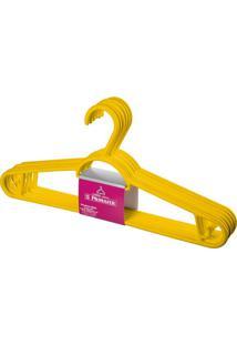 Cabide Multifuncional Pague 5 Leve 6 Amarelo Primafer
