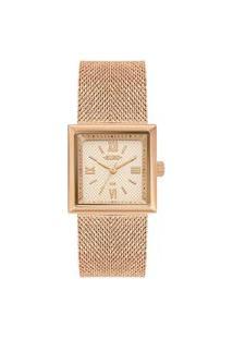 Relógio Euro Feminino Shiny Rose Analógico Eu2036Yqj4J