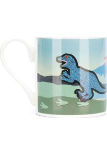 Paul Smith Caneca Com Estampa De Dinossauro - Azul