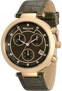 Relógio Seculus Feminino 20450Lpsvdr2