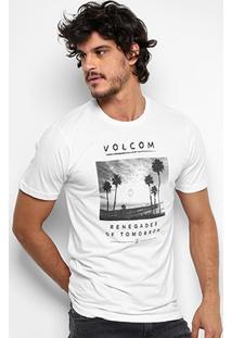 Camiseta Volcom Slim Renegade Masculina - Masculino