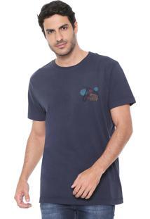 Camiseta Richards Jazz Azul-Marinho