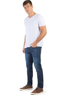 Calça Jeans Slim Flex Super Stone