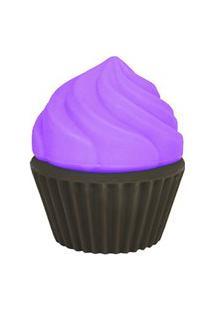 Luminária Cupcake - Lilás