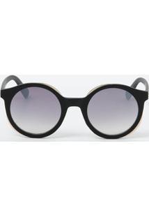 0c232d3945561 Marisa. Óculos De Sol Feminino Redondo Marisa