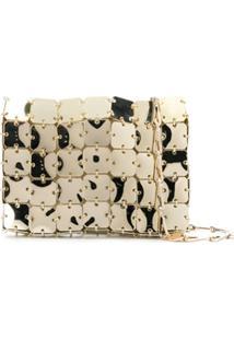 Paco Rabanne Linked Puzzle Shoulder Bag - Dourado
