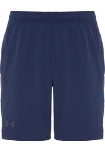 Short Masculino Ua Cage - Azul Marinho