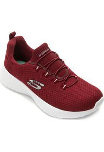 Tênis Skechers Dynamight Feminino - Feminino-Vinho