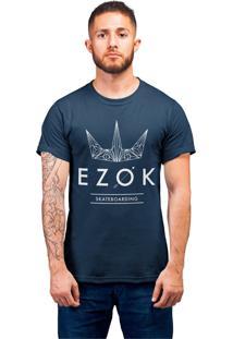 Camiseta Ezok Urban Azul Marinho