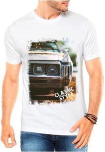 Camiseta Criativa Urbana Carro Antigo Classic Style Masculina - Masculino