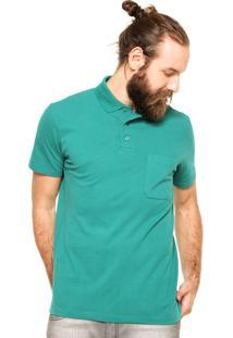 Camisa Polo Malwee Bolso Verde