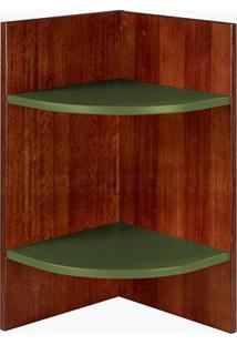 Prateleira Modular Hinz Verde Musgo Laca M284