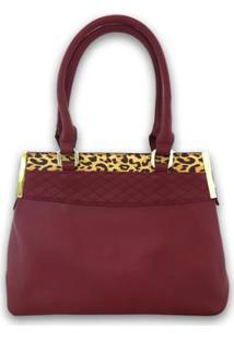 Bolsa Casual Sys Fashion 8527 Feminina - Feminino-Vermelho