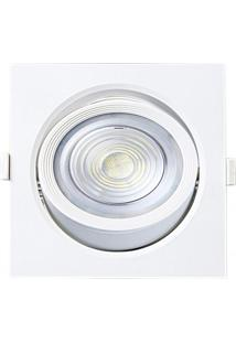 Spot Embutir Quadrado Alltop Led Par30 10W 6500K 45º Taschibra 6500K Luz Branca