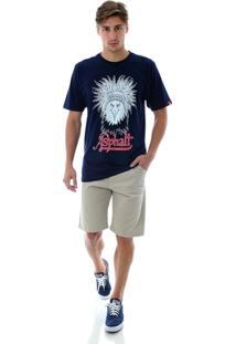 Camiseta Asphalt Indian Eagle - Masculino