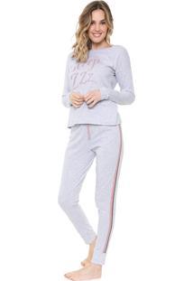 Pijama Malwee Liberta Sleep Cinza