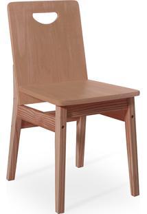 Cadeira Para Mesa De Jantar Tucupi 40X51X81Cm - Acabamento Stain Nozes