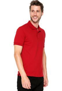 Camisa Polo Dudalina Logo Vermelha