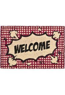 Capacho Decorando Com Classe Welcome L