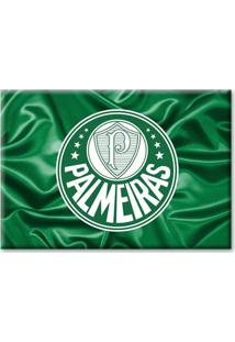 Imã Palmeiras Bandeira Ondulada - Unissex