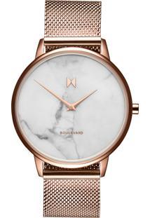Relógio Mvmt Feminino Aço Rosé - D-Mb01-Rgma