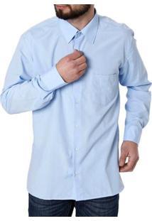 Camisa Manga Longa Enzo Vitorino Masculina - Masculino
