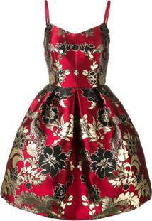 Dolce & Gabbana Vestido 'Broccato Flowers' - S8350 Jacquard