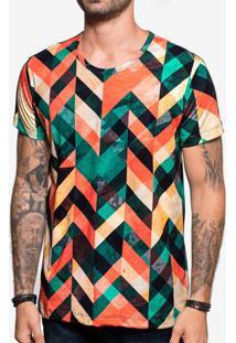 Camiseta Geometric Color 103854