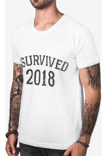 Camiseta I Survived 2018 103283