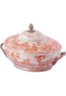 Vaso De Porcelana E Bronze Vi – Imperial