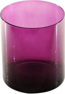 Vaso Bianco E Nero 17X15Cm Rosa
