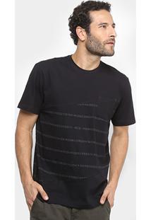 Camiseta Mcd Estampada Com Bolso Masculina - Masculino
