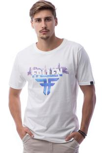 Camiseta Manga Curta Fallen Off White