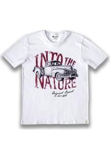 Camiseta Masculina Slim Hering Com Estampa
