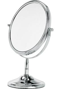 Espelho Dupla Face Para Bancada
