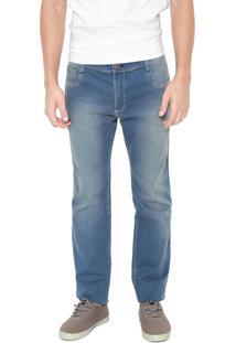 Calça Jeans Hang Loose Reta Hadam Azul