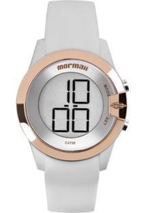 Relógio Mormaii Mo13001B/8K Feminino - Feminino-Branco