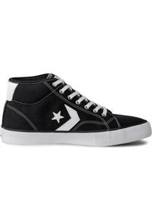 Tênis Converse Star Replay Mid Masculino - Masculino-Preto
