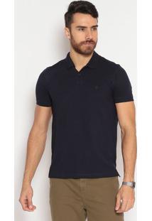 Polo Slim Fit Lisa - Azul Marinhoindividual