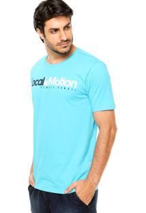Camiseta Local Motion Hi Standard Azul