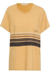 Camiseta Feminina Apito - Amarelo