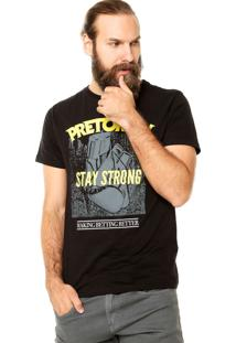 Camiseta Pretorian Stay Strong Preta
