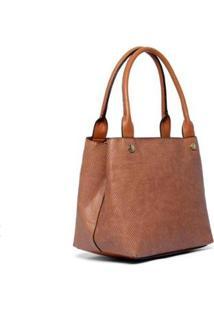 Bolsa Nice Bag Ombro Animal Print Cobra Moderna Feminina - Feminino