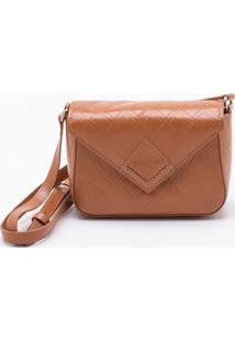 Bolsa Shoulder Bag Diamond Camel - P