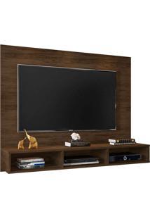Painel Para Tv Até 55 Polegadas Quartzo Cedro